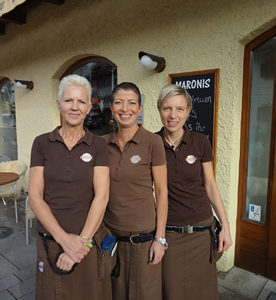 Maronis Team - Doris, Andrea, Stefanie